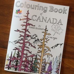 Colouring Book, Downloadable Copy and Colouring Book Pages Available as Prints