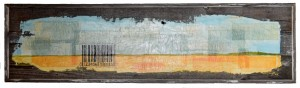 Harvest Bar Code mixed media 18 x 65 inches July 2014
